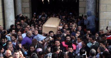 جنازة حاشدة للفنانة كريمة مختار