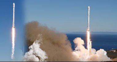 سبيس إكس تطلق أقمارا صناعية للاتصالات