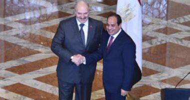 الرئيسان السيسى ولوكاشينكو يصلان لافتتاح منتدى الأعمال المصرى البيلاروسى