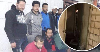 الشرطة تقتحم مراكز وهمية غير مرخصة لعلاج الإدمان بحدائق الأهرام