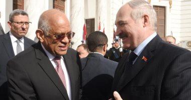 يطالب عبد العال-رئيس بيلاروسيا دعم مصر باتفاقية التجارة مع