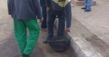 لليوم الثانى.. الجيزة تنظم حملة نظافة بمنطقة إمبابة