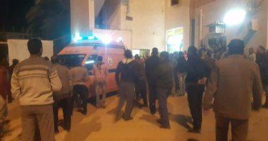غلق طريق الخارجة - أسيوط وإرسال قوات تدخل سريع عقب حادث كمين النقب الإرهابى