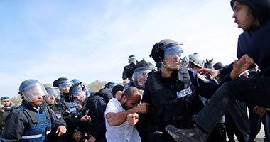 إصابة 9 فلسطينيين بينهم صحفى خلال قمع الاحتلال مسيرة مناهضة للاستيطان