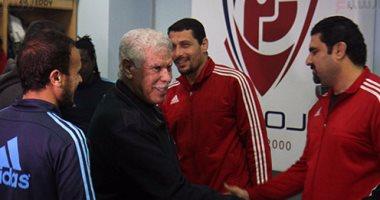 حسن شحاتة يعقد جلسة مع لاعبي بتروجيت و بداية العمل رسميا يوم