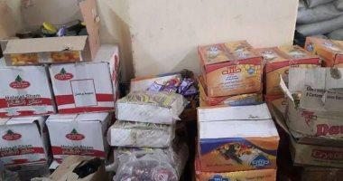 محافظ سوهاج: ضبط 6 سيارات نقل مواد غذائية وسلع تموينية غير مطابقة