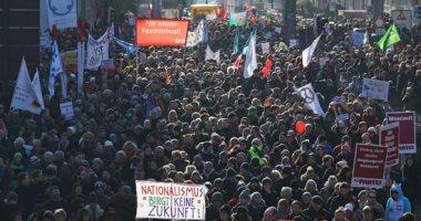 مسيرات فى ألمانيا تدعو لنزع السلاح وإنهاء الحروب