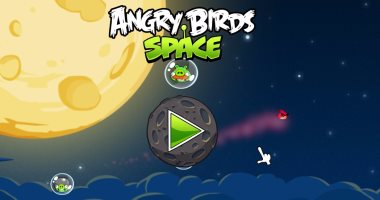 لعبة Angry Birds Space
