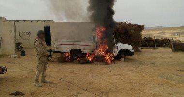 """مدير المخابرات الحربية: تصفية 500 إرهابى خلال """"حق الشهيد"""" شمال سيناء"""