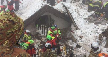 انهيار ثلجى بشمال إيطاليا ومصرع عاملى إغاثة