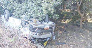 الاستعلام عن الحالة الصحية لـ6 أشخاص أصيبوا فى انقلاب ميكروباص بمنشأة القناطر
