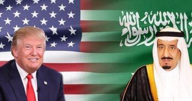 """الملك سلمان يهنئ """"ترامب"""" على نجاح العملية العسكرية فى سوريا"""