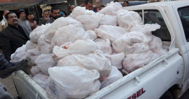 صورة المعمل الكيماوى يحدد مصير سائق ضبط بحوزته 2 طن دواجن فاسدة فى القاهرة