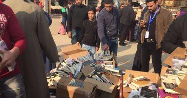 """هل تلغى """"هيئة الكتاب"""" مشاركة سور الأزبكية فى معرض القاهرة؟"""