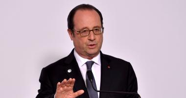 الرئيس الفرنسى: متضامنون مع مصر بشكل كامل فى مواجهة الإرهاب