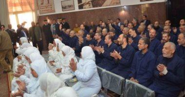 124 غارما بكفر الشيخ مفرج عنهم ب4 سجون فى العفو الرئاسى