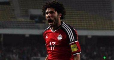 محمد الننى فى  تشكيل منتخب مصر أمام الكاميرون
