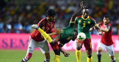 بعد 60 دقيقة.. الكاميرون يتعادل مع مصر فى الدقيقة 58
