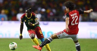الكاميرون تخطف الهدف الثانى أمام مصر