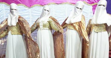 """بالصور..""""فور كاتس"""" بما لا يخالف شرع الله.. 4 منتقبات ينشئن فرقة أفراح إسلامية"""