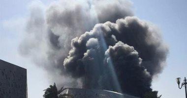 السيطرة على حريق فى مخزن لمواد التغليف بمدينة الزرقاء الأردنية