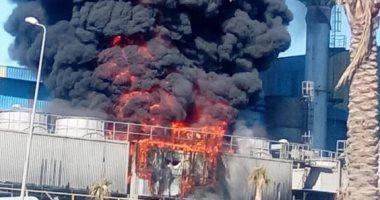 حريق هائل بمصنع أخشاب بدمياط الجديدة.. و6 سيارات إطفاء تحاول إخماد النيران
