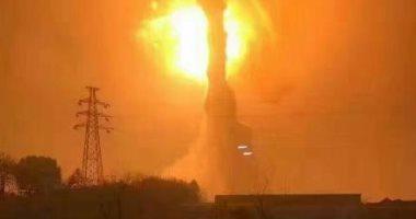 انفجار ضخم فى مصنع للمواد الكيميائية شرقى الصين