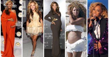 10 صور لبيونسيه هتعلمك الشياكة فى فترة الحمل
