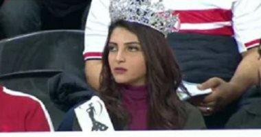 """كيف ردت """"أيسل خالد"""" ملكة جمال آسيا والمحيط الهادى على كابتن مدحت شلبى؟"""