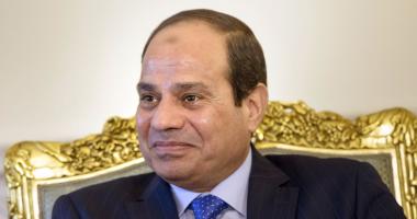 """""""أ ش أ"""": منظمة الشعوب والبرلمانات تختار السيسى زعيما للعرب فى استفتاء لها"""