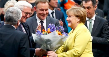 بالصور.. شتاينماير رئيسا جديدا لألمانيا رسميا