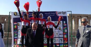 بالفيديو والصور.. مصر تفوز ببطولة أفريقيا للدراجات الهوائية للسيدات