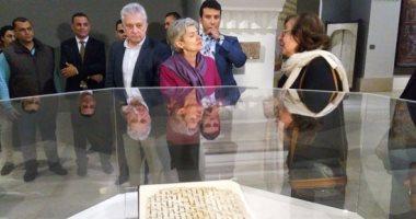 بالفيديو والصور.. وزير الآثار يستقبل إيرينا بوكوفا فى متحف الفن الإسلامى
