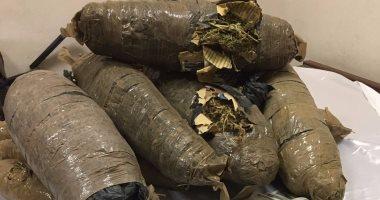 وزارة الداخلية: إحباط تهريب 270 كيلو بانجو فى المنيا