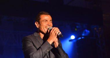 بالفيديو.. عمرو دياب يغنى الليلة فى حفل زفاف رمضان صبحى وحبيبة إكرامى