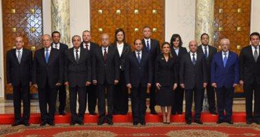 الوزراء الجدد يؤدون اليمين الدستورية أمام رئيس الجمهورية