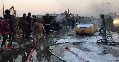 مصرع وإصابة 7 عراقيين فى تفجير انتحارى شمالى بغداد