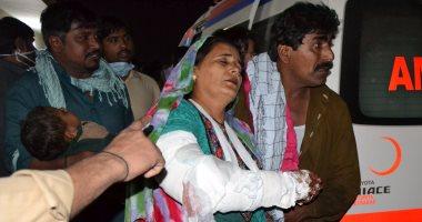 مصرع  72 شخصا وإصابة المئات فى انفجار حشد من زوار ضريح صوفى بباكستان
