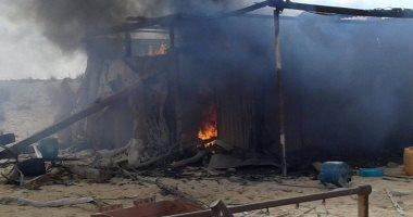 المتحدث العسكرى ينشر صور مقتل تكفيريين وتدمير مخازن سلاح بجبل الحلال