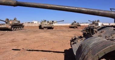 الجيش السورى يستعيد السيطرة على  نقاط حدودية مع الأردن