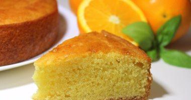 طريقة عمل الكيك بالبرتقال