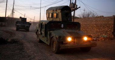 القوات العراقية تقتل 18 داعشيا بينهم أجانب الجنسية فى الموصل