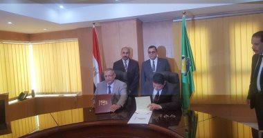 توقيع بروتوكول تعاون بين جامعة الفيوم ومديرية الشباب والرياضة