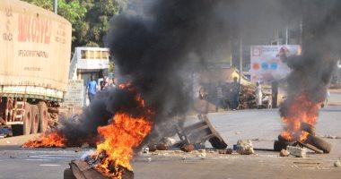 مقتل شخص وإصابة 30 آخرين خلال اشتباكات بين متظاهرين وقوات الأمن فى غينيا