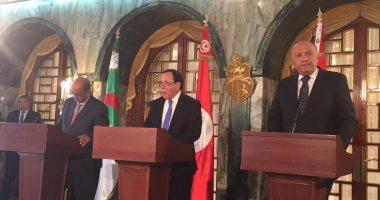 البيان الختامى لاجتماع تونس حول ليبيا يرفض أى حل عسكرى للأزمة الليبية