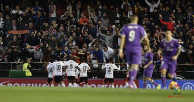هزيمة ريال مدريد أمام فالنسيا