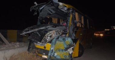 اصابة 3 أشخاص من أسرة واحدة فى حادث سيارة على طريق مطروح
