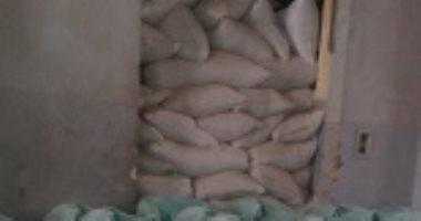 ضبط 4 آلاف طن قمح محلى مدعم مهرب داخل مصنع بالسادات لإنتاج الدقيق الفاخر
