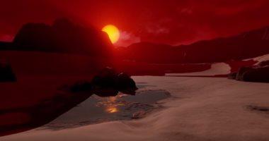 جولة 360 درجة داخل النظام الشمسى الجديد والكواكب السبعة