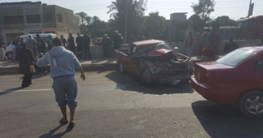 مصرع شخص وإصابة 3 فى حادثين منفصلين بطريق إسكندرية الصحراوى
